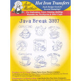 Java Break Embroidery Transfer Pattern
